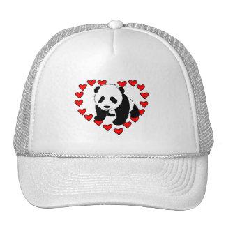 Panda Bear Love Trucker Hat