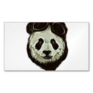 Panda Bear Magnetic Business Card