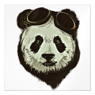 Panda Bear Magnetic Card