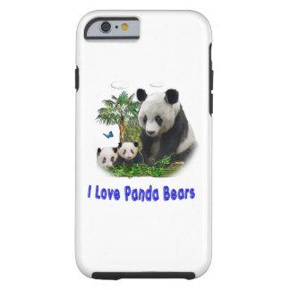 Panda Bear merchandise Tough iPhone 6 Case