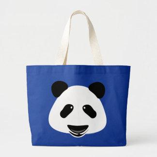 Panda Bear Modern Large Tote Bag