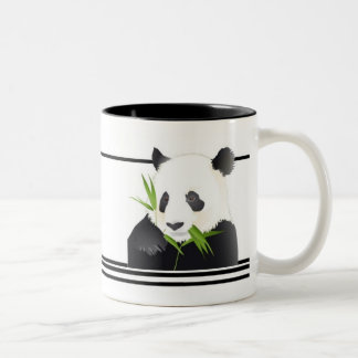 Panda Bear Two-Tone Coffee Mug