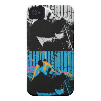 Panda Bear Multi-panel Modern Art Design iPhone 4 Cover