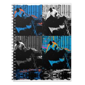Panda Bear Multi-panel Modern Art Design Note Books