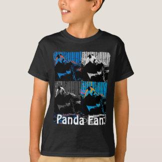 Panda Bear Multi-panel Modern Art Design T-Shirt