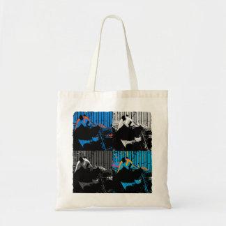 Panda Bear Multi-panel Modern Art Design Tote Bag
