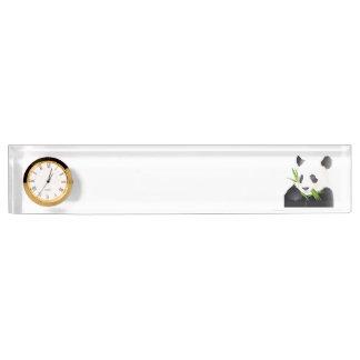 Panda Bear Desk Nameplate