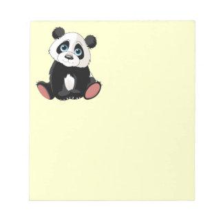 Panda Bear Note Pad