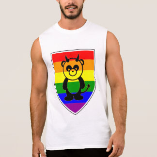 Panda Bear on The Rainbow Flag - Shirt