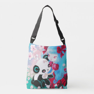Panda Bear Paradise Crossbody Bag