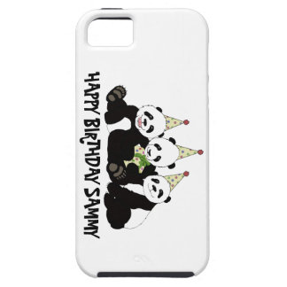 Panda Bear Party by Kindred Design iPhone SE/5/5s Case