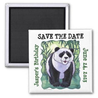 Panda Bear Party Center Magnet