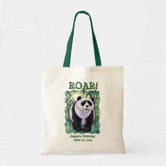 Panda Bear Party Center Tote Bag
