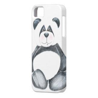 Panda Bear Pencil Art iPhone SE/5/5s Case
