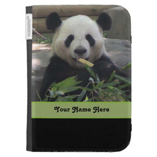 Panda Bear Personalized Kindle Case
