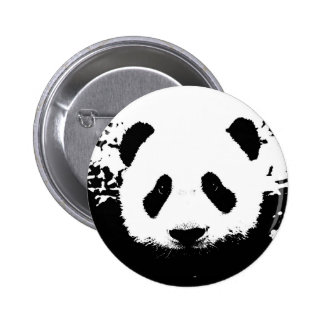 Panda Bear Pinback Button