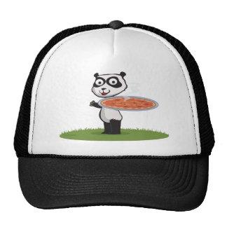 Panda Bear Pizza Trucker Hat