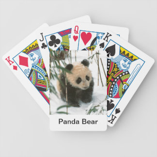 Panda Bear Playing Cards