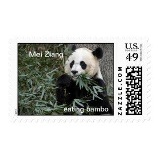 Panda Bear Postage