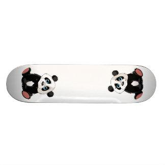 Panda Bear Custom Skate Board
