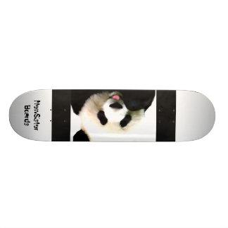 Panda Bear Skateboard Deck