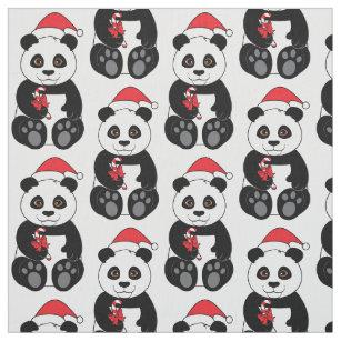 Panda Fabric Zazzle