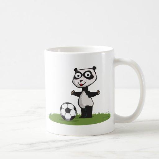 Panda Bear Soccer Mugs