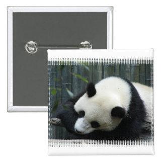 Panda Bear Square Pin
