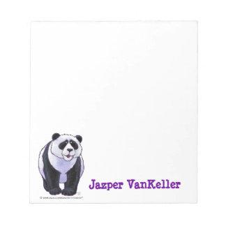 Panda Bear Stationery Scratch Pad