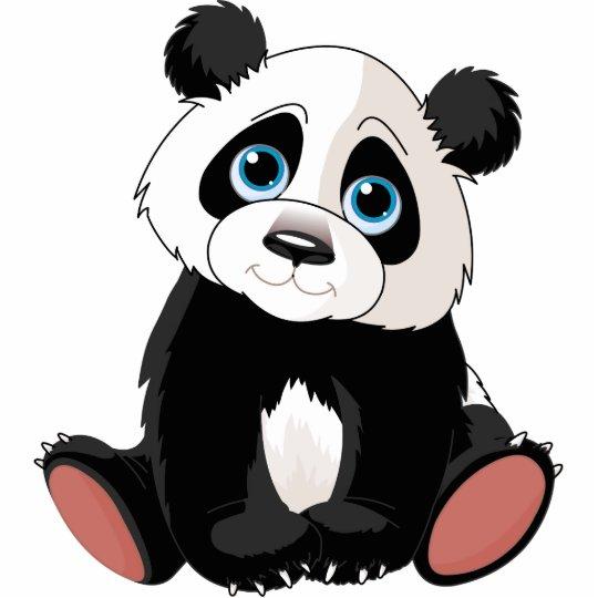 Panda Bear Statuette