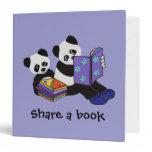 Panda Bear Storytime Binder