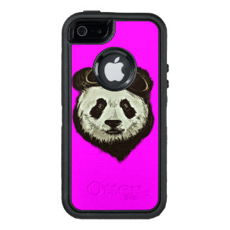 Panda Bear Style OtterBox Defender iPhone Case