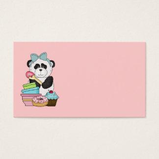 Panda Bear Sweet Treats Business Card