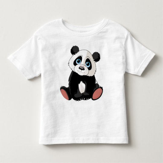 Panda Bear Toddler T-shirt