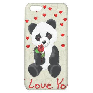 Panda Bear Valentine Case For iPhone 5C
