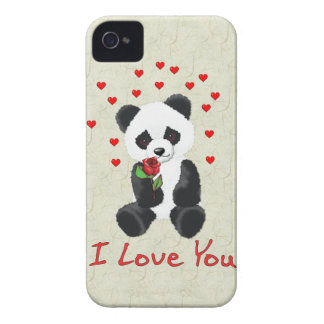Panda Bear Valentine Case-Mate Blackberry Case
