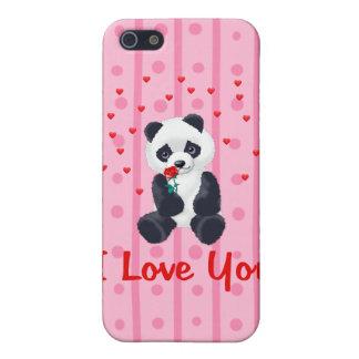Panda Bear Valentine iPhone 5 Covers