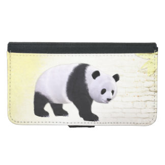 Panda Bear Wallet Phone Case For Samsung Galaxy S5