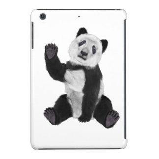 Panda Bear Waving iPad Mini Retina Covers