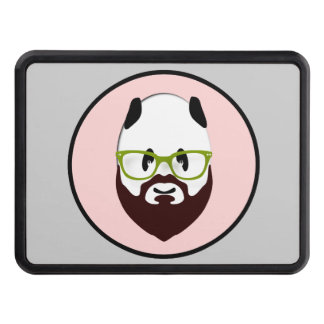 Panda Bear with a Beard Hitch Covers