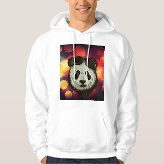 Panda Bear with Bokeh Art Hoodie