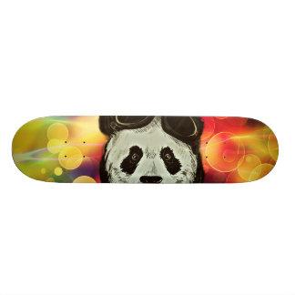 Panda Bear with Bokeh Art Skateboard Deck