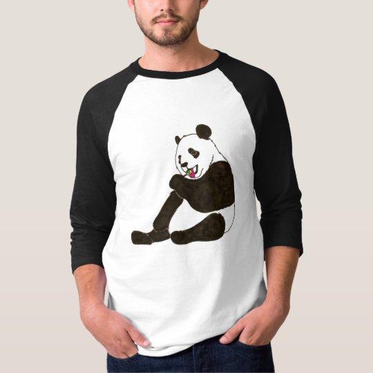 PANDA BEAR WITH SUCKER T-Shirt
