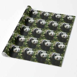 Panda Bear Wrapping Paper