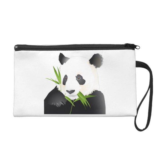 Panda Bear Wristlet Purse
