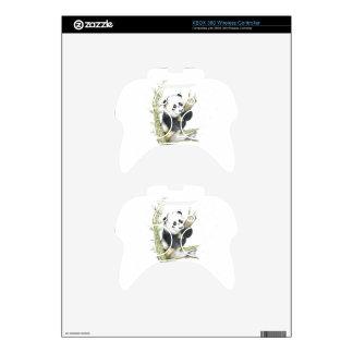 Panda Bear Xbox 360 Controller Skin