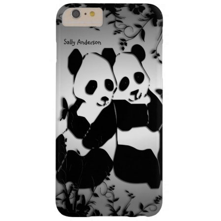 Panda Bears Barely There iPhone 6 Plus Case