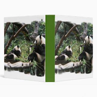 Panda Bears Binder