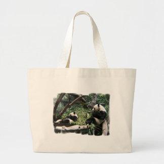 Panda Bears Canvas Bag