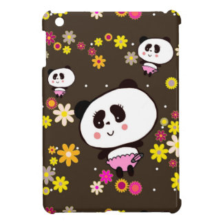 Panda Bears Gifts for Girl Add Name To personalize iPad Mini Case